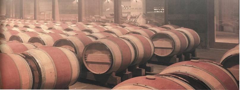 использования деревянных бочек в виноделии